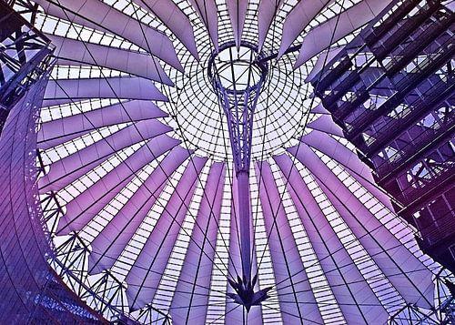 Sony-Center in Berlijn, moderne architectuur
