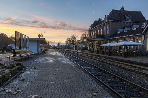 zonsondergang station Simpelveld 1