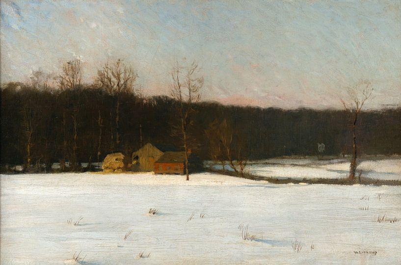 William Langson Lathrop Unbeschriebene Landschaft von finemasterpiece