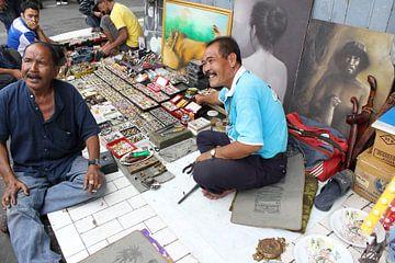 Indonesië: Straatverkoop  van