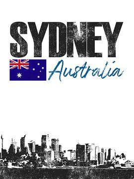 Sydney Australie sur Printed Artings