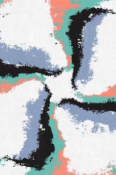 Vliegend kruis van dcosmos art