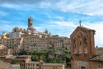 Der Dom von Siena Italien von Jelmer Laernoes