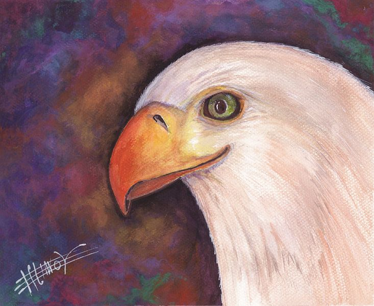 Angry Eagle von Bojan Eftimov