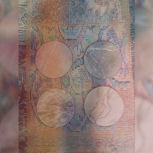 Coasters van Susan Stiletti