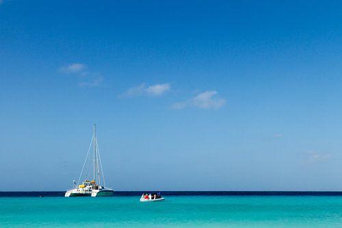 Catamaran bij klein Curacao no. 2