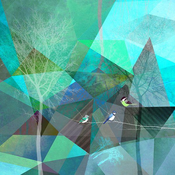 BIRDS P19 van Pia Schneider