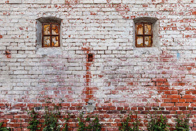 Alte Ziegelmauer von Anjo ten Kate