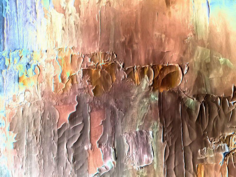 Abstrakt in irdischen Farben von Maurice Dawson