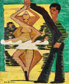 Drehende Tänzerin, ERNST LUDWIG KIRCHNER, 1931-1932 von Atelier Liesjes