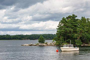 Archipelago on the Baltic Sea coast in Sweden van