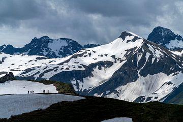 Allgäuer Alpen bei Oberstdorf von Peter Schickert
