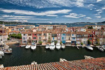 De haven van Port Grimaud aan de Cote d'Azur van Arie Storm
