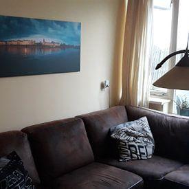 Photo de nos clients: Skyline Zutphen sur Vladimir Fotografie, sur toile