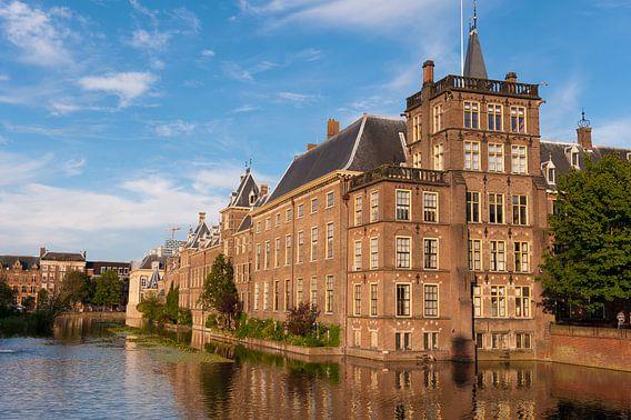 Binnenhof Den Haag reflectie van Brian Morgan