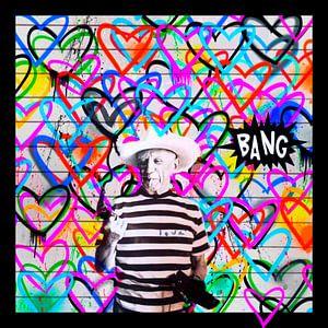 Motiv Pablo Picasso - we need Love - Bang