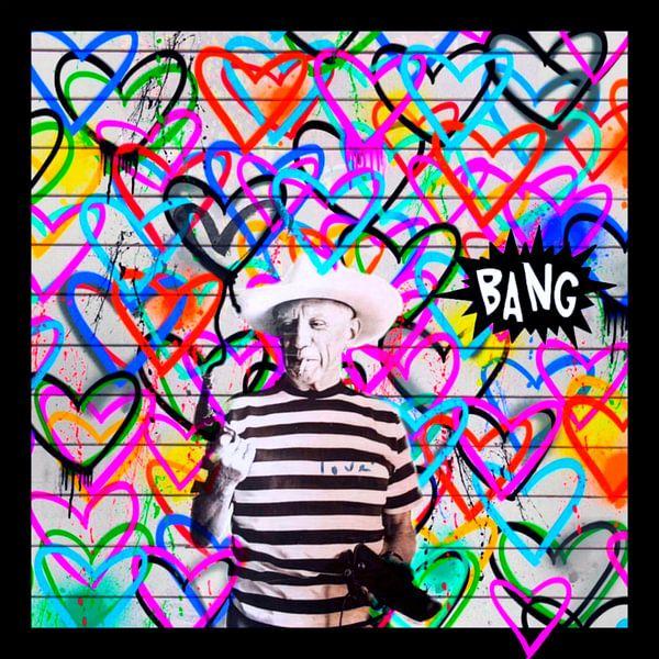 Motiv Pablo Picasso - we need Love - Bang von Felix von Altersheim