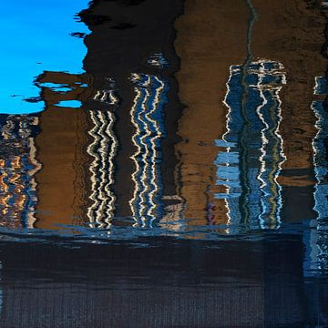 reflectie #4 van Georges Hoeberechts