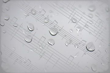 Regendruppels von Ralph Hoeberechts