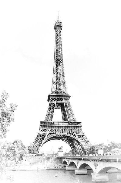 Frankrijk, Parijs, Eiffeltoren van Anouschka Hendriks