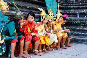 Angkor Wat  van Pieter  Debie