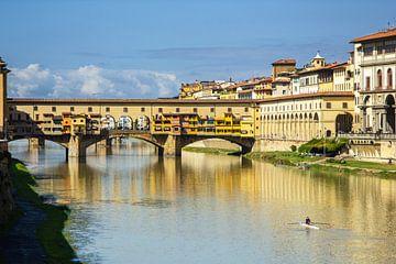 Die Ponte Veccio in Florenz, Toskana, Italien von Discover Dutch Nature