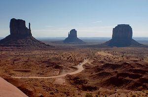 Monument Valley van Inge Teunissen