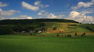 Landschaft Limburg von MSP Canvas
