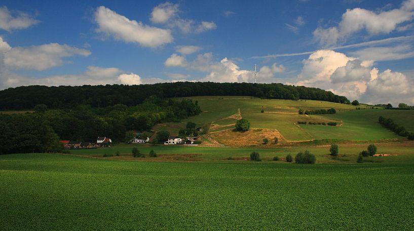 Landschap Limburg van MSP Canvas