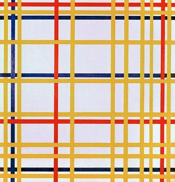 New York City I, Piet Mondriaan van