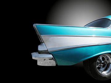 Voitures classiques américaines Chevy bel air 1957 sur Beate Gube