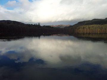 Spiegel meer Schotland van Chantal Koper
