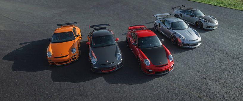 Porsche RS Line Up van Gijs Spierings