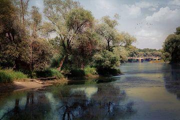 An der Donau van Franz Nagler