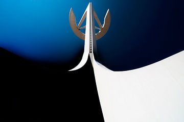 Calatrava's telecommunicatietoren van Maerten Prins