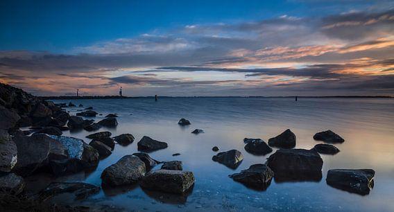 Zonsopgang vanaf het Grevelingenmeer
