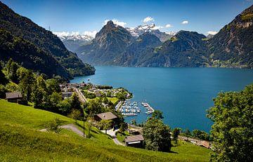 Ansicht von Sisikon, Schweiz von Adelheid Smitt