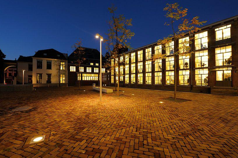 De Universiteitsbibliotheek Utrecht aan de Wittevrouwenstraat (2) van Donker Utrecht