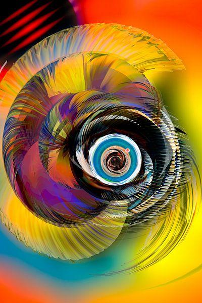The unseen beauty around a black hole von Holger Debek