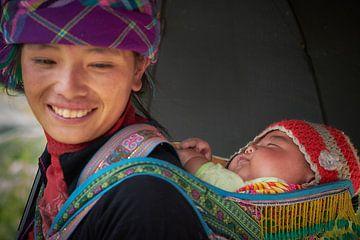 Vietnamese moeder en baby van Karel Ham