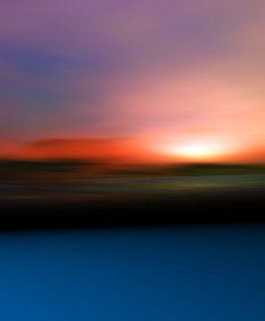 Couleurs du coucher du soleil 2 von Angel Estevez