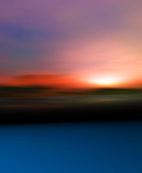 Couleurs du coucher du soleil 2 van Angel Estevez