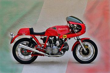 Ducati 900 SS van Ingo Laue