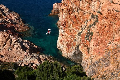Mediterraanse baai van