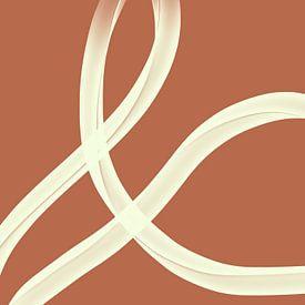 Modern abstract - uxor van YOPIE illustraties