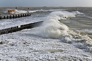 Storm in Vlissingen
