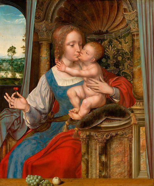 Maria mit Kind, Quinten Massijs (I) von Meesterlijcke Meesters