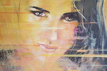 Wild yellow lady van VDB schildersatelier