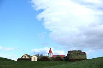 Isländischer Himmel von Diebe Media