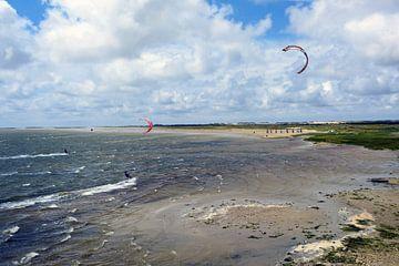 Kitesurf van Paula van der Horst